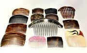 Hair Side Comb Updo Pin Stick Pick Women French Vintage Made In France Belgium