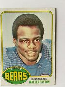 1975 Walter Payton Rookie Excellent Condition Rare Find Priced Right I
