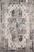 12and039 0 X 15and039 0 Loloi Rug Medusa Natural Stone 100 Polyester Pile Power Loomed