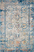 12and039 0 X 15and039 0 Loloi Rug Medusa Blue Multi 100 Polyester Pile Power Loomed