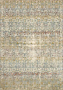 9and039 6 X 12and039 5 Loloi Rug Revere Grey Multi 100 Polyester Power Loomed