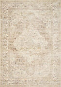 9and039 6 X 12and039 5 Loloi Rug Revere Ivory Berry 100 Polyester Power Loomed