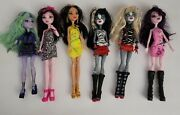 Monster High Doll Lot Dolls, Clothes , Shoes And Accessories