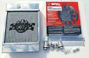 Csf 7065 The King Cooler Small Compact Aluminum Radiator And 9 Spal Fan
