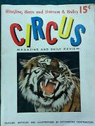 Vtg 1941 Ringling Brothers Barnum And Bailey Circus Magazine Program Edition M682