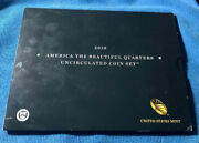 Atb 2010 Uncirculated 10 Coin P D Mint Set • Great Investment Opportunity