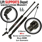 Qty 2 Toyota Celica 2000 To 2005 Hatch Lift Supports W /large Spoiler
