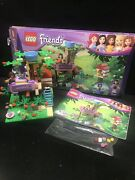 Lego Friends Olivia's Tree House 3065 Complete With Box, Broken Leaf