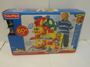 Brand New Fisher-price Little People Wheelies Stand 'n Play Rampway Sealed