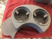 Vw Oem 01-05 Beetle Gray Dual Sliding Console Cup Holder Assembly 1c1 862 531 B