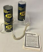 Vintage Zep Parts Cleaner Can Phone Telephone Gas And Oil Advertisement By Tectel