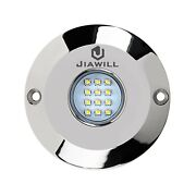 Jiawill 60w Cree Led Surface Mount Underwater Boat Lights 316l Stainless Stee...
