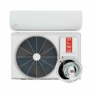 Olmo Alpic 9000 Btu 110/120v Ductless Mini Split Ac/heating System With Hea...