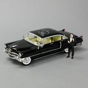 Al Pacino Autographed The Godfather 118 Scale Die-cast 1955 Cadillac Fleetwood