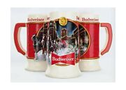 Budweiser 2020 Clydesdale Holiday Stein - Brewery Lights - 41st Edition - Cer...