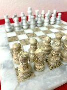 Handmade Onyx Stone Chess Set With Case From Pakistan Great For Living Room 4