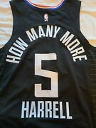 Montrezl Harrell Los Angeles Clippers Game Worn Social Justice Jersey Lakers