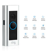 Ring Pro Video Doorbell Hd Video Works With Motion Activated Alertshardwired