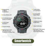 T-rex Smartwatch 14 Sports Modes Gps/glonass Mil-std For Ios Android Phone Kits