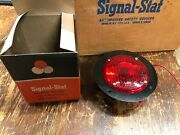 Nos Signal Stat Case Of 12 Vintage Trailer Truck Red Lights Stop Tail Turn Lamp