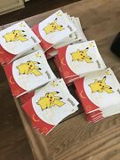 Pokemon 25th Anniversary Mcdonalds 2021 Promo Sealed Pack In Hand Lot Of 50