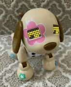 Zoomer Zuppy Pink Electronic Interactive Dog Spin Master 2014 Toy Working