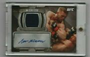 Conor Mcgregor 2014 Topps Ufc Knockout Relic Auto 2nd Year Card
