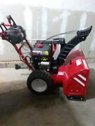 28 In. Three-stage Gas Snow Blower With Electric Start And Track Drive And