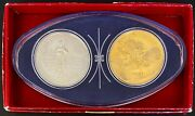 1967 Canadian Mint Centennial Year Coins Commemorating Ontario Mining Industry