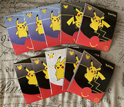 10x Mcdonalds Pokemon 25th Anniversary Promo Cards Happy Meal Booster Packs 2021