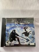 Battle Realms Winter Of The Wolf Pc Cd-rom Ubisoft. Great Condition.