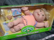 Vintage Cabbage Patch Kids Tender Love 'n Care Baby Set Kit With Accessories