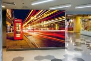 3d Car Phone Booth Kep246 Wallpaper Mural Self-adhesive Removable Sticker Bea