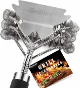 18inch Grill Cleaning Brush Bristle Free Ideal Bbq Grill Accessories Gift