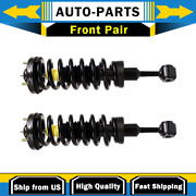 Strut And Coil Spring Assembly Front Monroe 2 Pcs For 04-08 F-series 4wd 4x4_lp