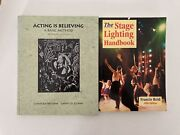 2 Theater Books  The Stage Lighting Handbook And Acting Is Believing