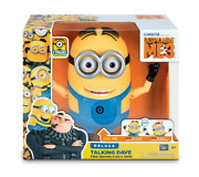 Minion Deluxe Talking Mel Despicable Me 3 Me3 Figure W Free Moving Eyes And Arms