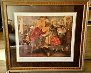 Tales Of The Force Arnold Friberg Limited Lithograph Rcmp 247 504/1200 Signed