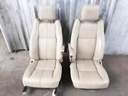 2015 Range Rover Hse Full Size Front Seats Pair Left Right Seat Almond Beige