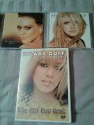 Lot Of 3 Hilary Duff The Concert Dvd The Girl Can Rock And Cd Dignity And Cd Hilary