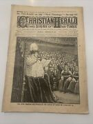 Antique Paper The Christian Herald Feb 1907 41st Year King In The House Of Lords