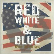 V/a Red White And Blue -which One Are You- Split Double 7singles - Ls7018/ppr059