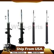 Kyb Excl-g Front Rear Shock And Struts 4pcs Set For 2012-2014 Nissan Versa