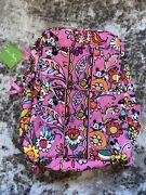 New Disney Vera Bradley Just Mousing Around Mickey And Minnie Pink Backpack