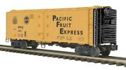 ✅mth Premier Pacific Fruit Express 40' Steel Reefer Car 20-94148 Union Southern