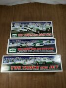 2010 Hess Toy Truck And Jet 2011 Toy Truck And Race Car 2012 Helicopter And Rescue Nib