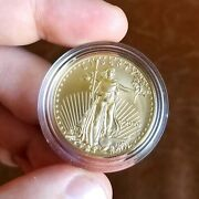 2020 W One Ounce Gold American Eagle Uncirculated Coin Bu