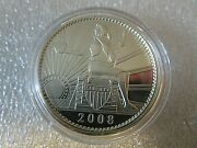 2008 Daniel Carr Seated Liberty 100 Ameros 1oz .999 Silver Proof-like Round
