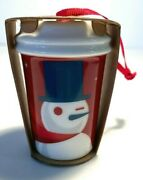 New Starbucks Christmas Ornament Collection Limited Edition Nwt 2012