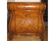 Antique Commode With A Drawer Made Of Solid Wood